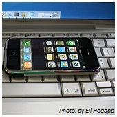 iphone and laptop