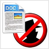 antispam and word doc icon